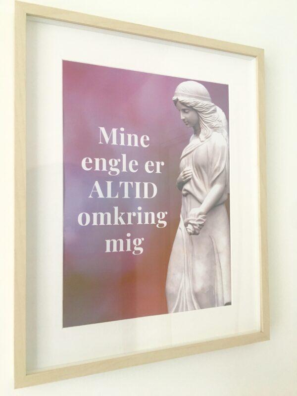 Plakat - Englene er altid omkring mig